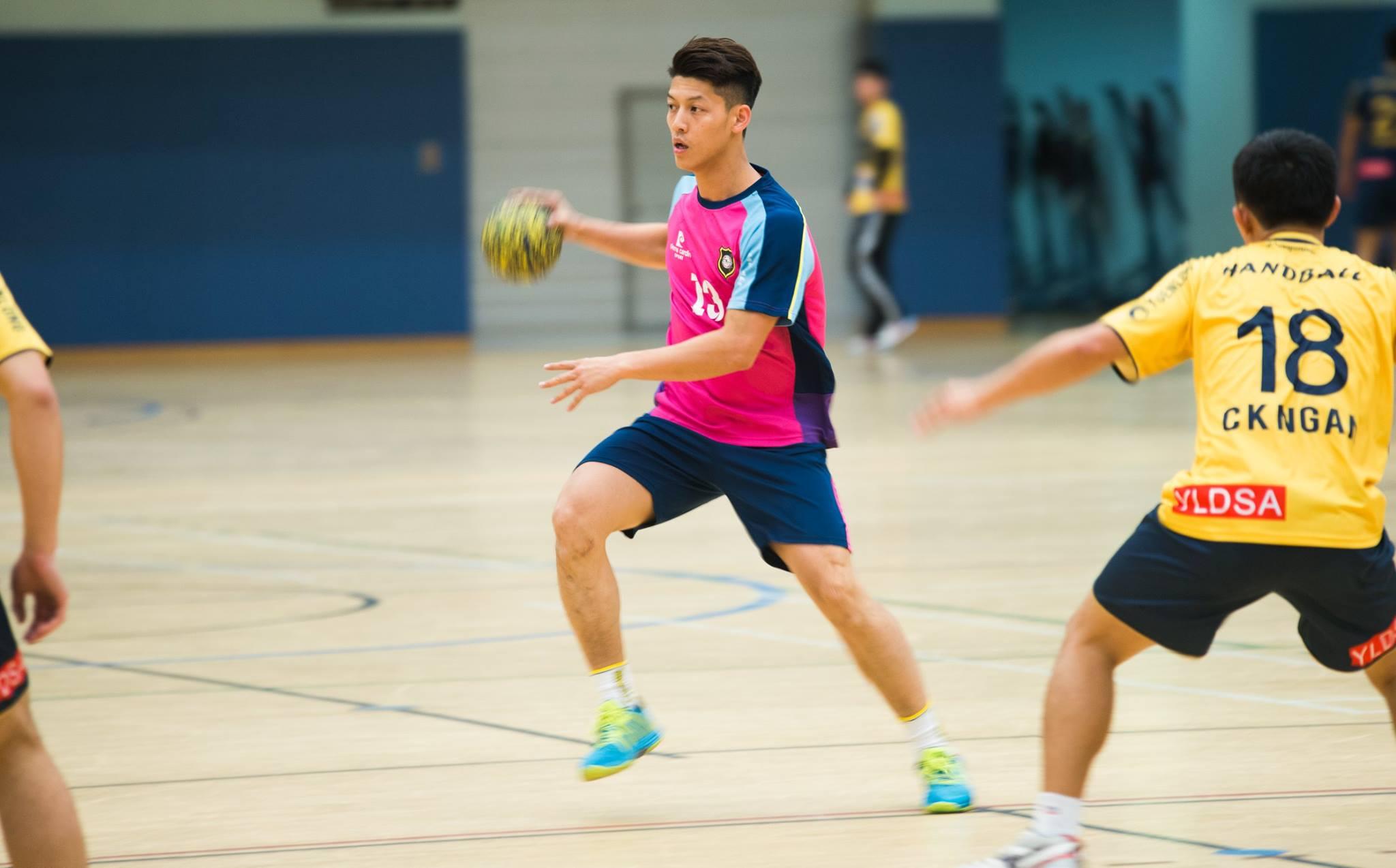 2015-2016手球香港男子联赛年度甲1组元朗体育vs羽毛球业余赛图片